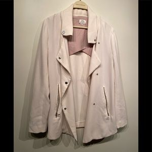 Aritzia Wilfred Crepe Jacket - small